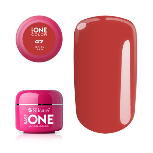 Base One Color 47 SPICY RED