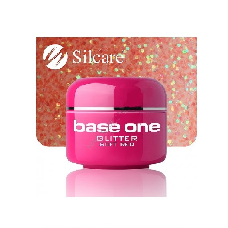 Base One GLITTER 13 SOFT RED