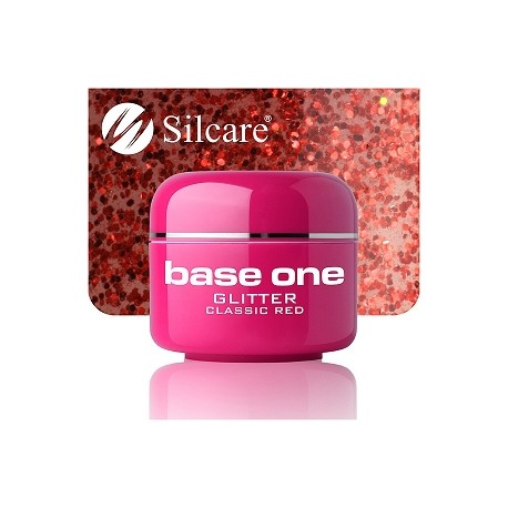 Base One GLITTER 15 CLASSIC RED