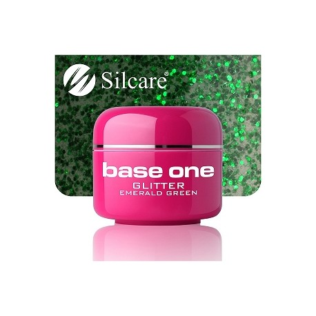Base One GLITTER 23 EMERALD GREEN