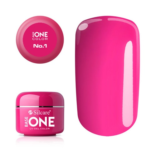 Base One Color N01 SILCARE PINK