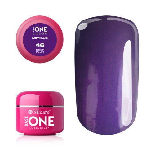 Base One Metallic 46 DEEP PLUM