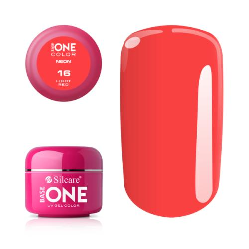 Base One Neon 16 LIGHT RED