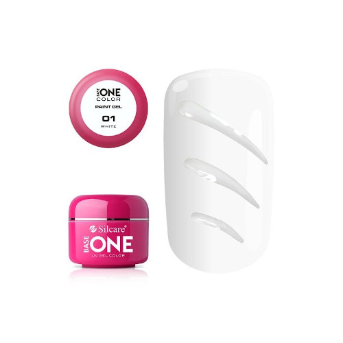 Base One Paint Gel 01 WHITE