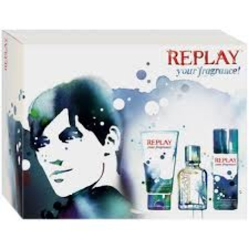 Replay Your Fragrance for him set